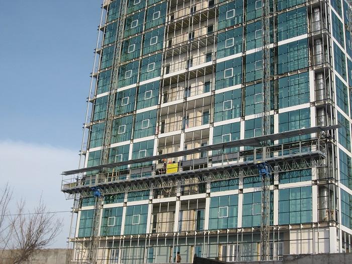 строительное оборудование на объекте МГК Вирамакс
