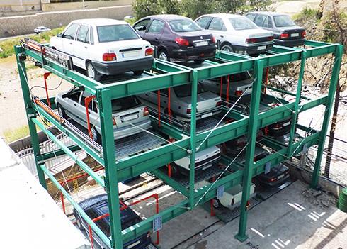 Наземная/подземная парковка smart tower