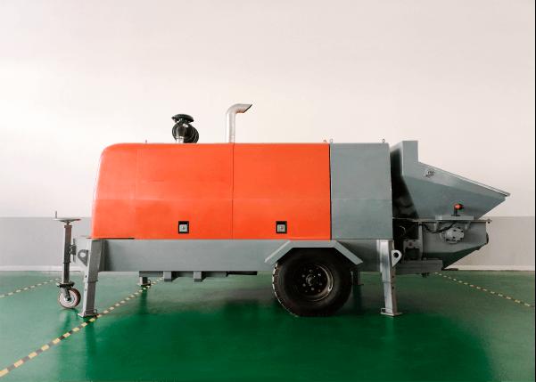 Электрический бетононасос LV-HBT-40/14 ES