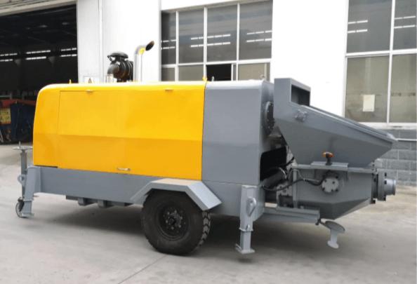 Дизельний бетононасос LV-HBT-40/14 RS