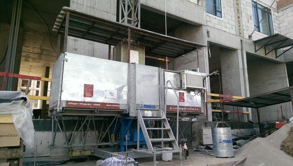строительный подъемник мабер