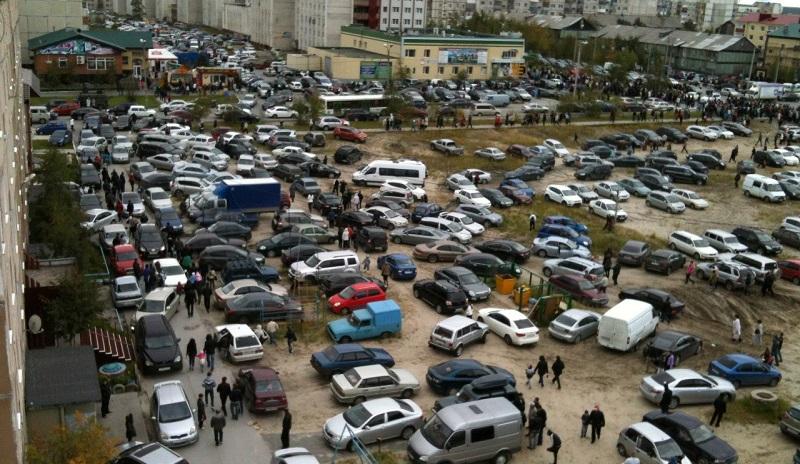 загруженность парковок Украины