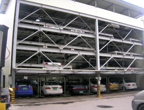 пазловая парковочная ситстемы