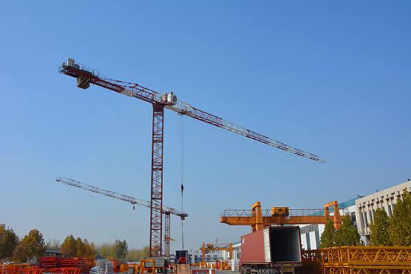 Новые строительные краны продажа и обслуживание